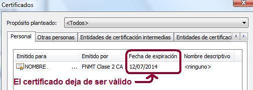 Certificado en IE