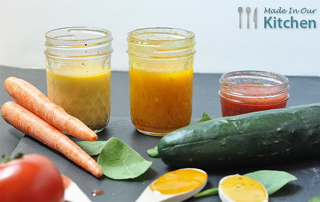 Three Dressings - Jar Dressings
