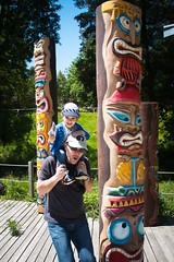 totem pole, art, sculpture, tiki, totem, park,