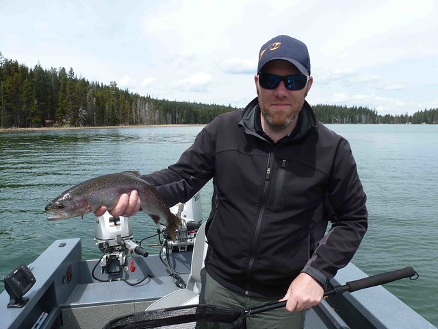 fly fishing diamond lake sam parker