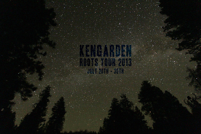 Kengarden Roots Tour 2013 - Into the Stars we go