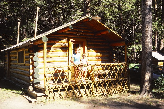 Wyoming Cody Absoroka Lodge Cabin 7 Jessica Jeb