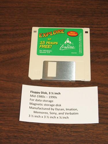 Floppy Disk, 3 ½ inch