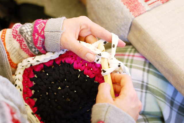 Crocheting with Tricot