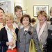 Book Club Pals: Cally Bowen, Susan Freeman, Pat Simpson, Annette McCoubry, Pamela Kempthorne, and Rhoda Payne