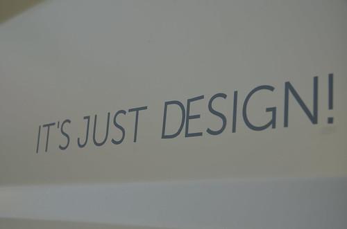 It's just design!