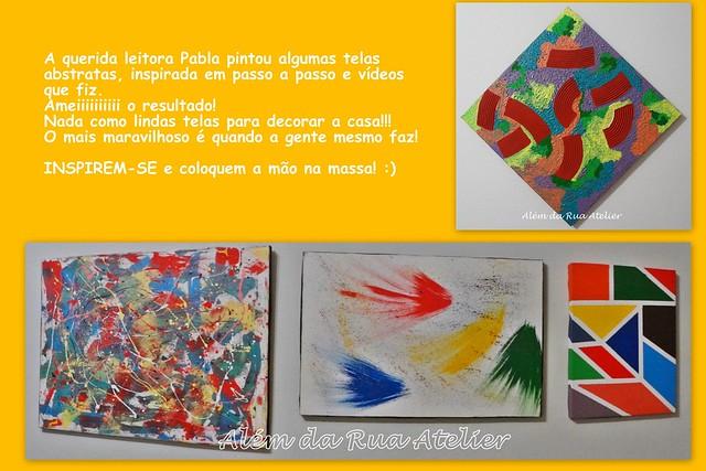 Como pintar telas abstratas
