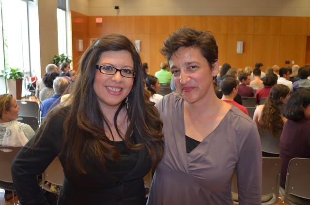 Texas Rep. Mary E. Gonzalez and Ixchel Rosal at LavGrad