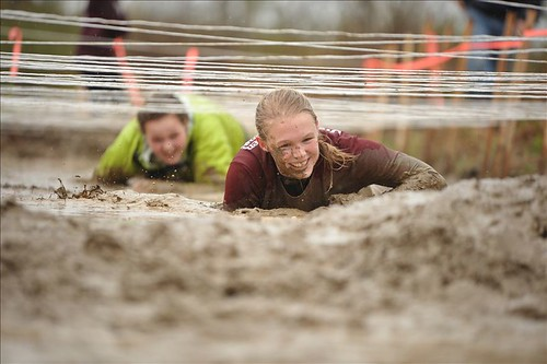 East Grand Adventure Race Mud Crawl -