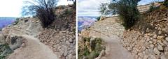 Grand Canyon N.P: Bright Angel Trailhead Renovation - Retaining Wall.