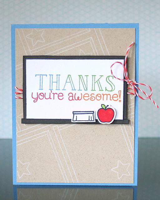 Teacher Appreciation You're Awesome