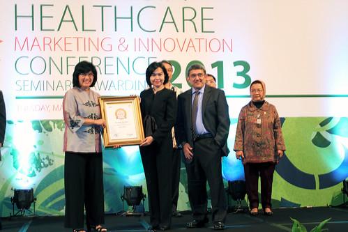 Indonesia Health Care Marketing & Innovation Conference 2013 – Erha Clinic (Denpasar).