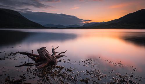 bridge sunset scotland highlands log nikon long exposure scottish lee glencoe loch filters leven hoya ballachulish d600 nd400