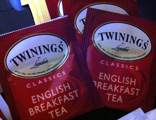 Tea bags for the Brits