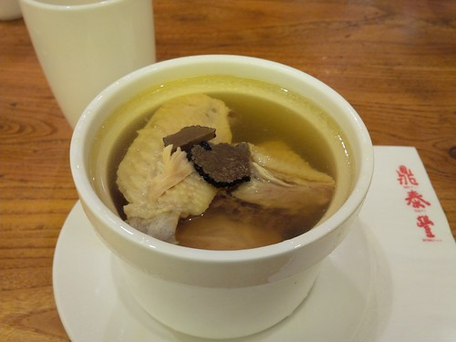 Truffle Chicken Soup