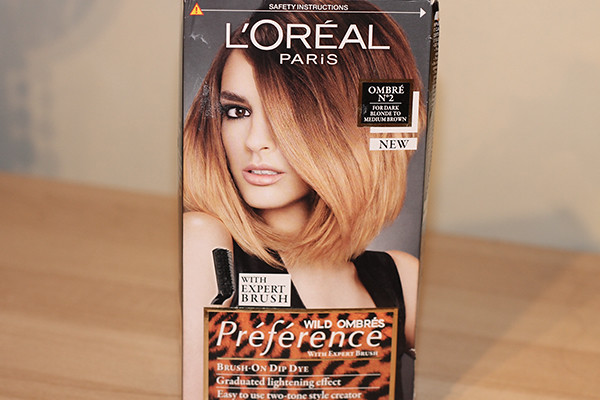 L'Oreal Preference Wild Ombre Brush-On Dip Dye Kit