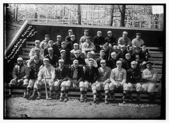 Philadelphia Phillies at Fogel Field, 1912.