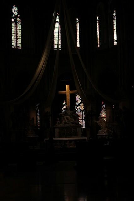 Notre Dame: giochi di luce