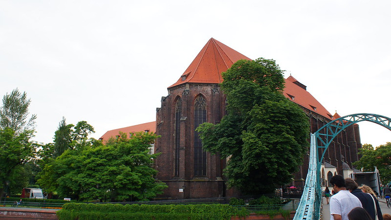 Wrocław-Kościół Najświętszej Marii Panny na Piasku
