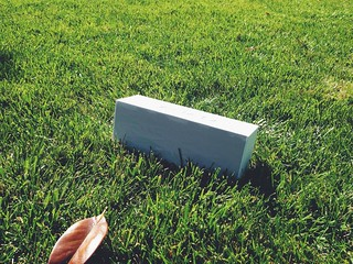 Jambox in the garden
