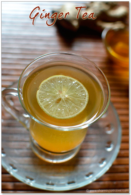 Ginger Tea without milk