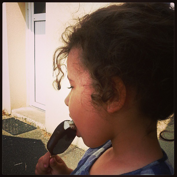 Vacances = glace #blog #blogueuse #ourlittlefamily #family #famille #france #glace