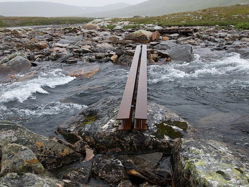 Bridge next to Sauvasskardet