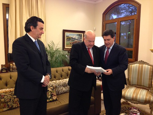 Secretary General Meets with the President-Elect of Paraguay