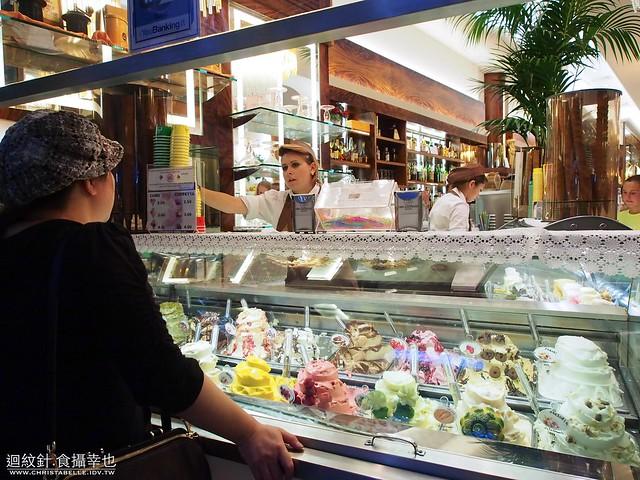 米蘭 三隻鹿 冰淇淋