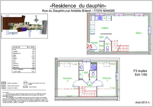 Résidence du Dauphin - Plan de vente - Lot n°25