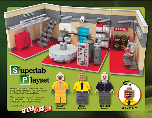 The CB Superlab Playset