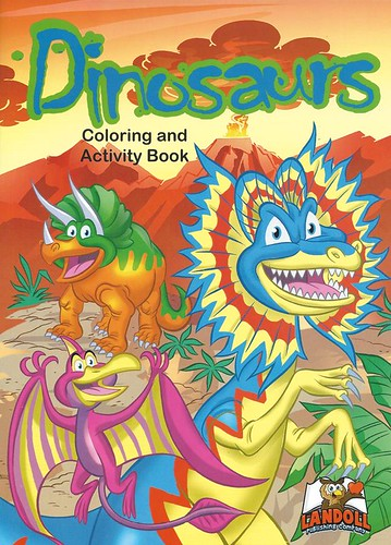 "Landoll Publishing Company :: ""Dinosaurs"" Coloring & Activity Book (( 2013 ))"
