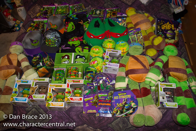 Part of my TMNT collection!