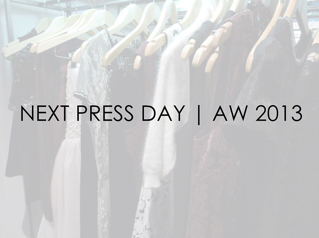 Next AW13 press day