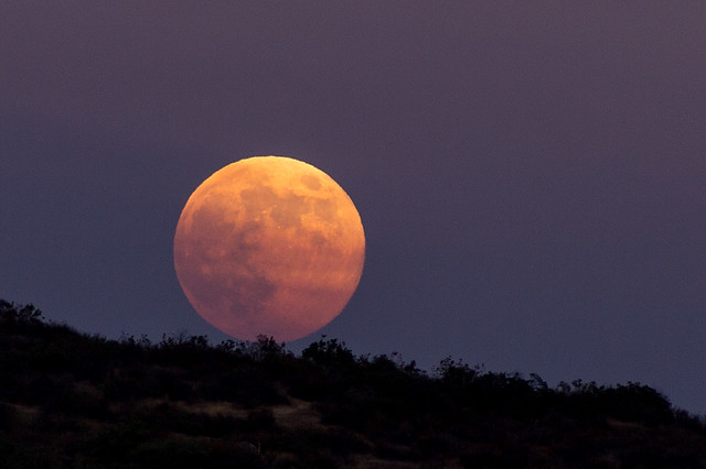 Blue Moon Rolling Down The Mountain Flickr Photo Sharing
