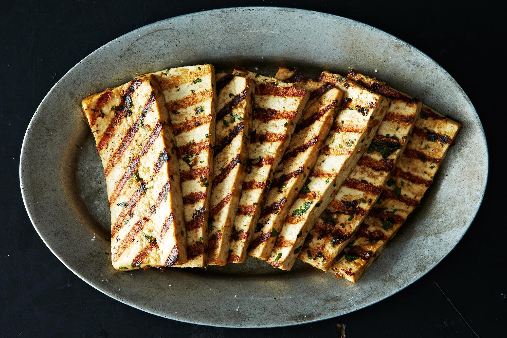 Grilled Peanut Tofu on Food52