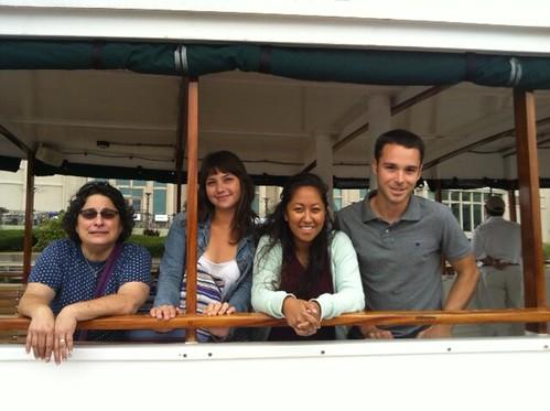 TTF Staff Enjoys Boat Ride on the Delaware