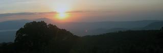 Sonnenuntergang (Ngorongoro)