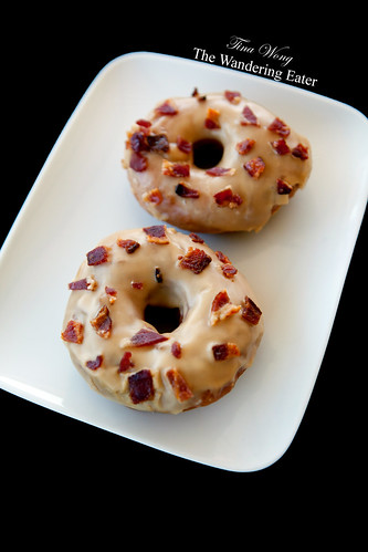 Trou de Beigne Doughnuts: My pair of Maple Bacon Doughnuts