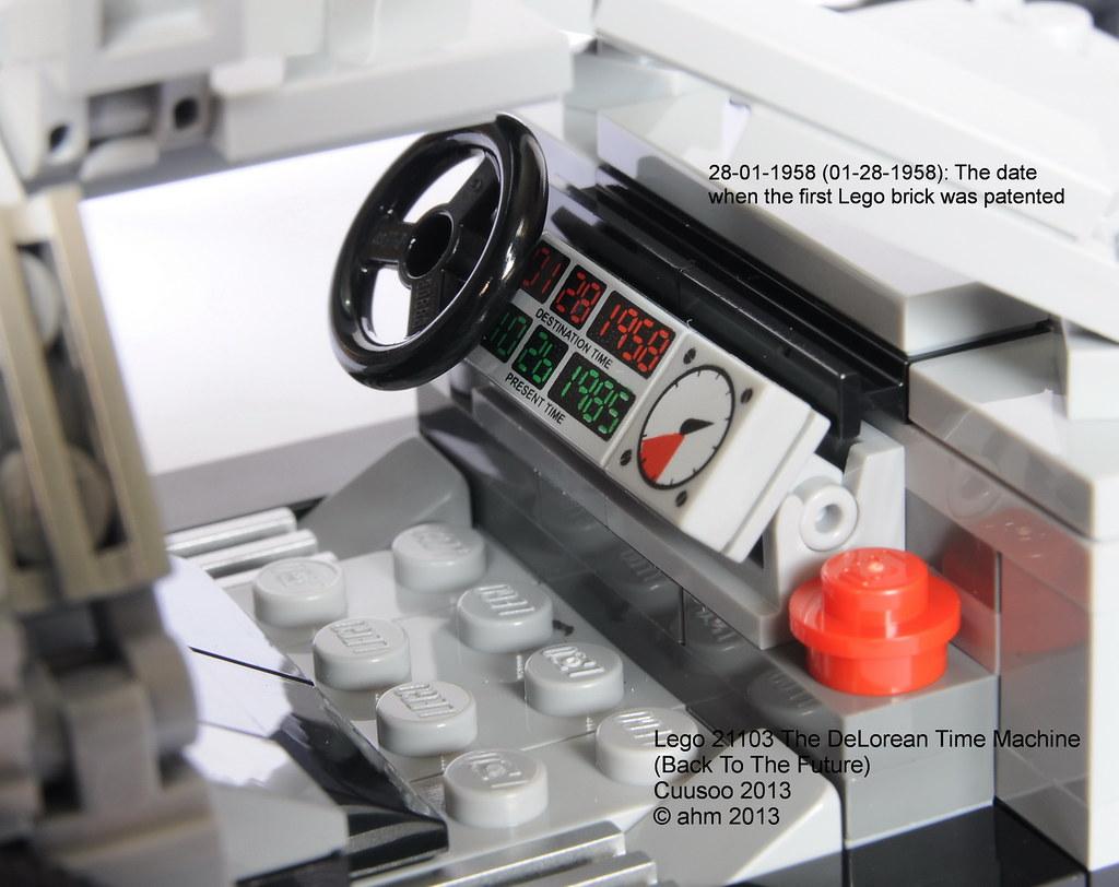 Lego Cuusoo 21103 The Delorean Time Machine A Photo On
