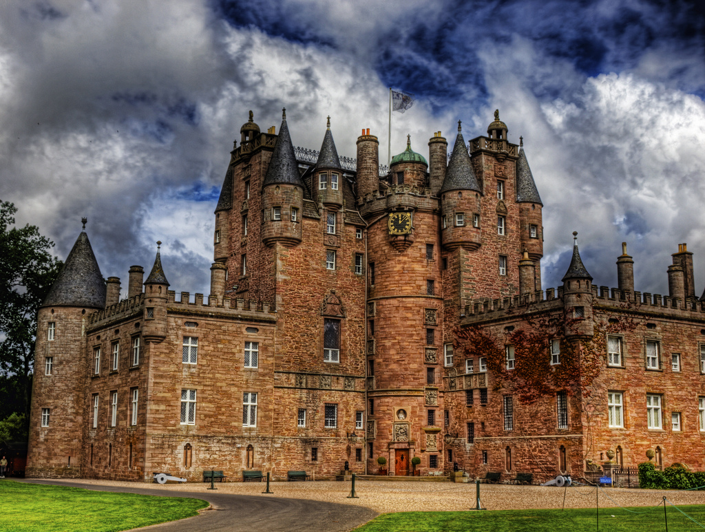 10. Castillo de Glamis, en Escocia. Autor, Neil Howard