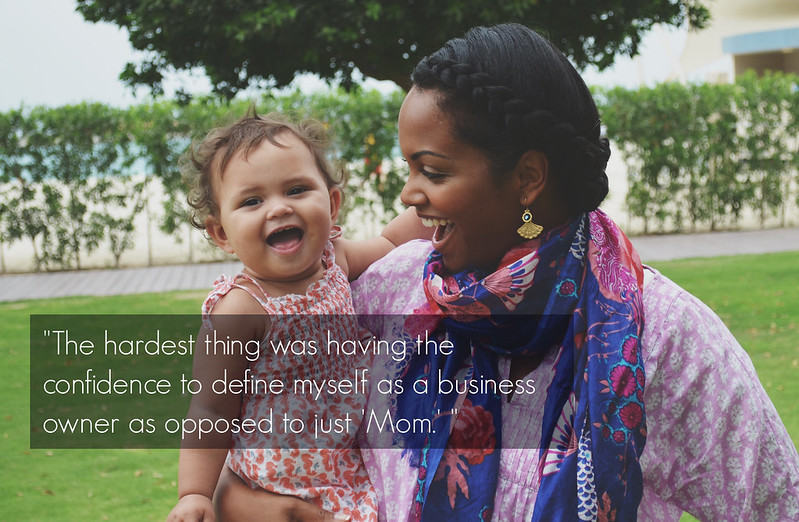 black woman entrepreneur career feature, kera thompson, interwoven textiles