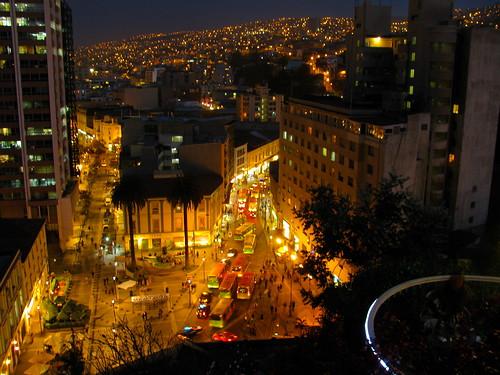 Noche en Plaza Aníbal Pinto by Miradas Compartidas