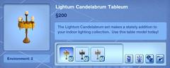 Lightum Candelabrum Tableum