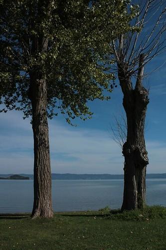 Capodimonte: ammirando il lago di Bolsena