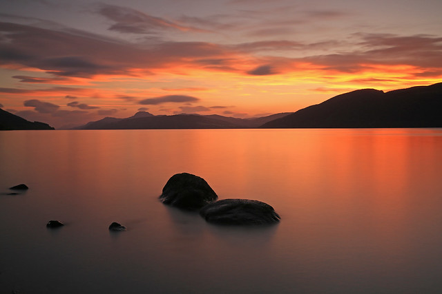 Loch Ness Sunset...
