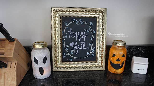 Halloween Decor - Kitchen