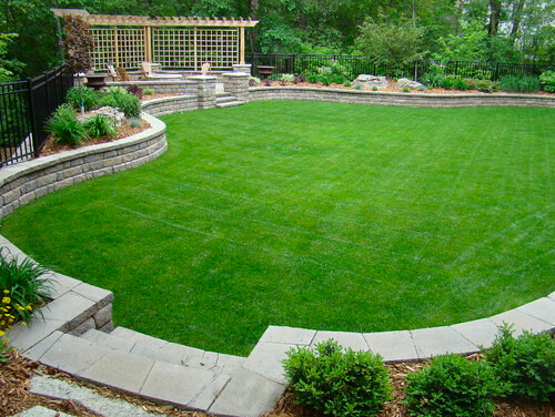 ... Project by Superior Lawn and Landscape ... - Retaining Walls Projects Hedberg Landscape And Masonry Supplies
