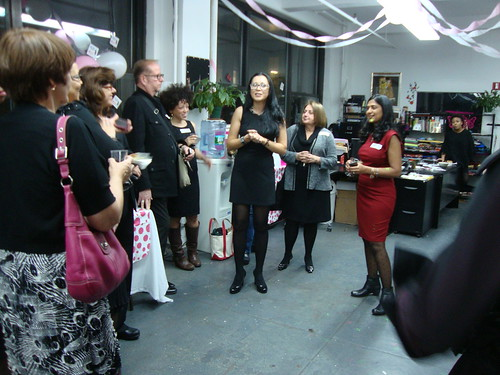 PR Day 2013 at Elliott Berman fabrics in NYC