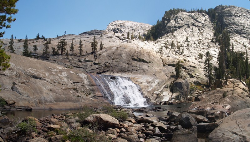 California Falls on the Tuolumne River